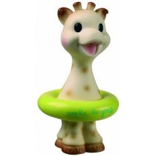 Sophie de Giraf badspeeltje met zwemband groen