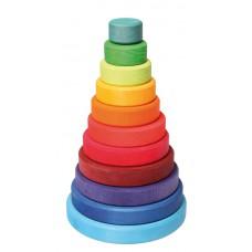Grote stapelringen regenboog, Grimm's