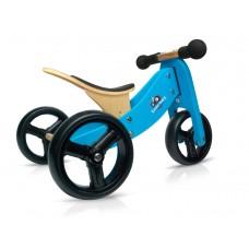 Tiny Tot 2-in-1 loopfiets blauw, Kinderfeets