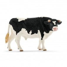 Holstein zwartbonte stier, Schleich