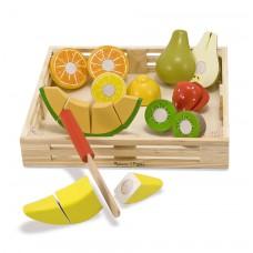 Snijset fruit in krat, Melissa & Doug