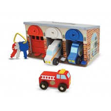 Lock & Roll garage met sloten, Melissa & Doug