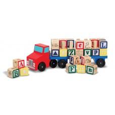 Alfabet truck, Melissa & Doug