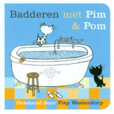 Badderen met Pim & Pom, badboekje