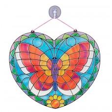 Glas in lood vlinder maken, Melissa & Doug