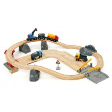 Rail & Road Loading treinset, Brio