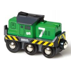 Locomotief goederentrein op batterij, Brio