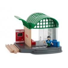 Modern station met geluid, Brio