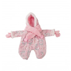 Roze winterpakje babypop M, Goetz