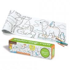 Mini Coloring Roll Werelddieren, Mudpuppy