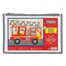 Pouch puzzel Brandweer-12 stukken, Mudpuppy