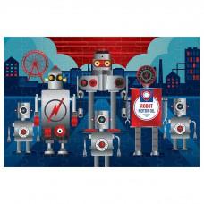 Metallic puzzel robots, Mudpuppy