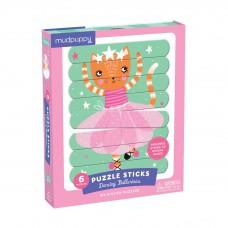 Puzzel sticks ballerina's, Mudpuppy