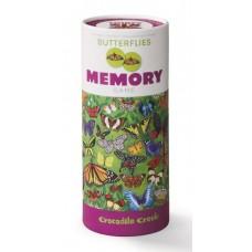 Memory Vlinders 72 stuks, Crocodile Creek