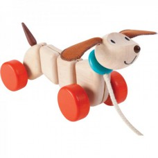 Trekdier Happy Puppy, Plan Toys