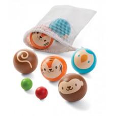 Houten petanque dieren, Plan Toys