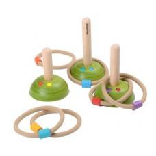Houten ringenwerpspel, Plan Toys