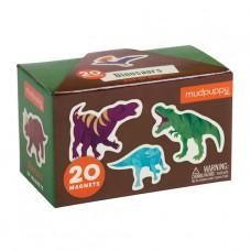 20 Magneten Dino's, Mudpuppy