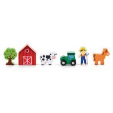 Houten speelset boerderij