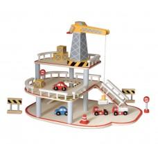 Garage met hijskraan, Egmont Toys