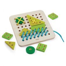 Rijgbord, Plan toys