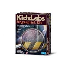 Detective kit voor vingerafdrukken, 4M KidzLabs