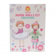 Paper Dolls Vintage kit, Tiger Tribe