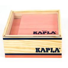 40 Kapla plankjes in kistje, roze