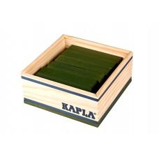 40 Kapla plankjes in kistje, groen