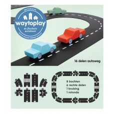 Autoweg 16-delig, Waytoplay