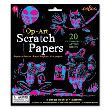 Scratch Papers fluo, Eeboo