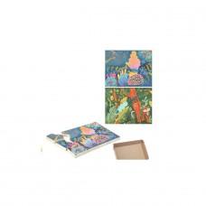 Dubbelzijdige puzzel Koraalrif/Jungle, Bajo