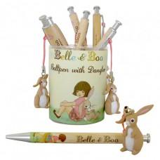 Pen met Boo hanger, Belle & Boo