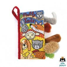 Staartenboek Fluffy tails, Jellycat
