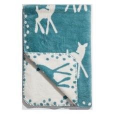 Wiegdekentje Bambi Smaragd, Cara Caro