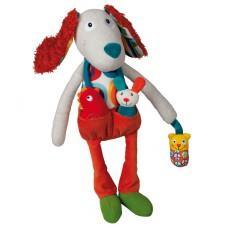 Activiteitenknuffel Antoine de hond, Ebulobo