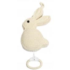 Muziekdoos wit konijn, Anne-Claire Petit