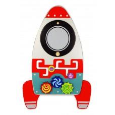 Wandspeelbord raket, I'm Toy