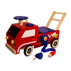 Loopwagen brandweer groot, I'm Toy