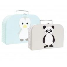 Kofferset pinguin & panda, JaBaDaBaDo