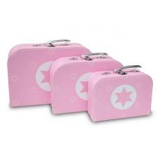 Koffertje Big Star Pink, Cara Caro