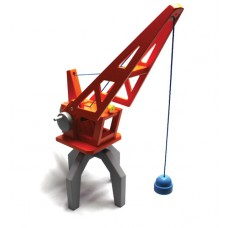 Houten hijskraan, New Classic Toys