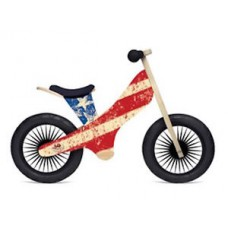 Loopfiets Stars & Stripes, Kinderfeets Retro
