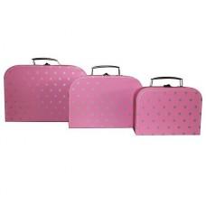 Koffertje Little Star Pink, Cara Caro