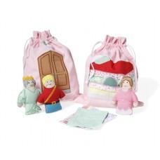 Storybag prinses op de erwt, Oskar & Ellen