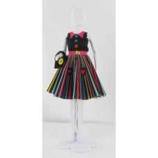 Peggy Rainbow, kledingset Dress Your Doll
