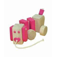 Snuffelhond roze, Primi Passi