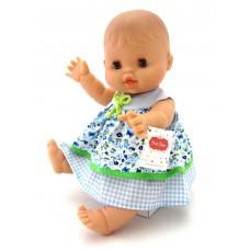 Babypop Alicia blauw jurkje, Paola Reina