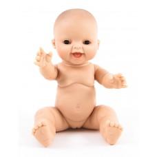 Babypop lachend blank meisje 34 cm, Paola Reina