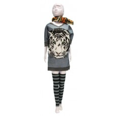 Sally Tiger kledingset, Dress your Doll